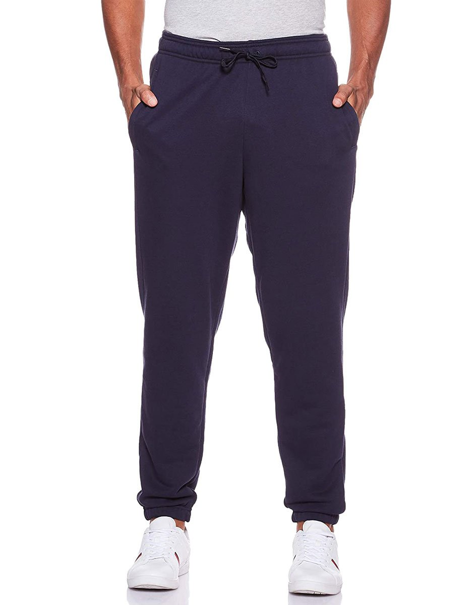 ADIDAS Linear French Terry Pants Navy