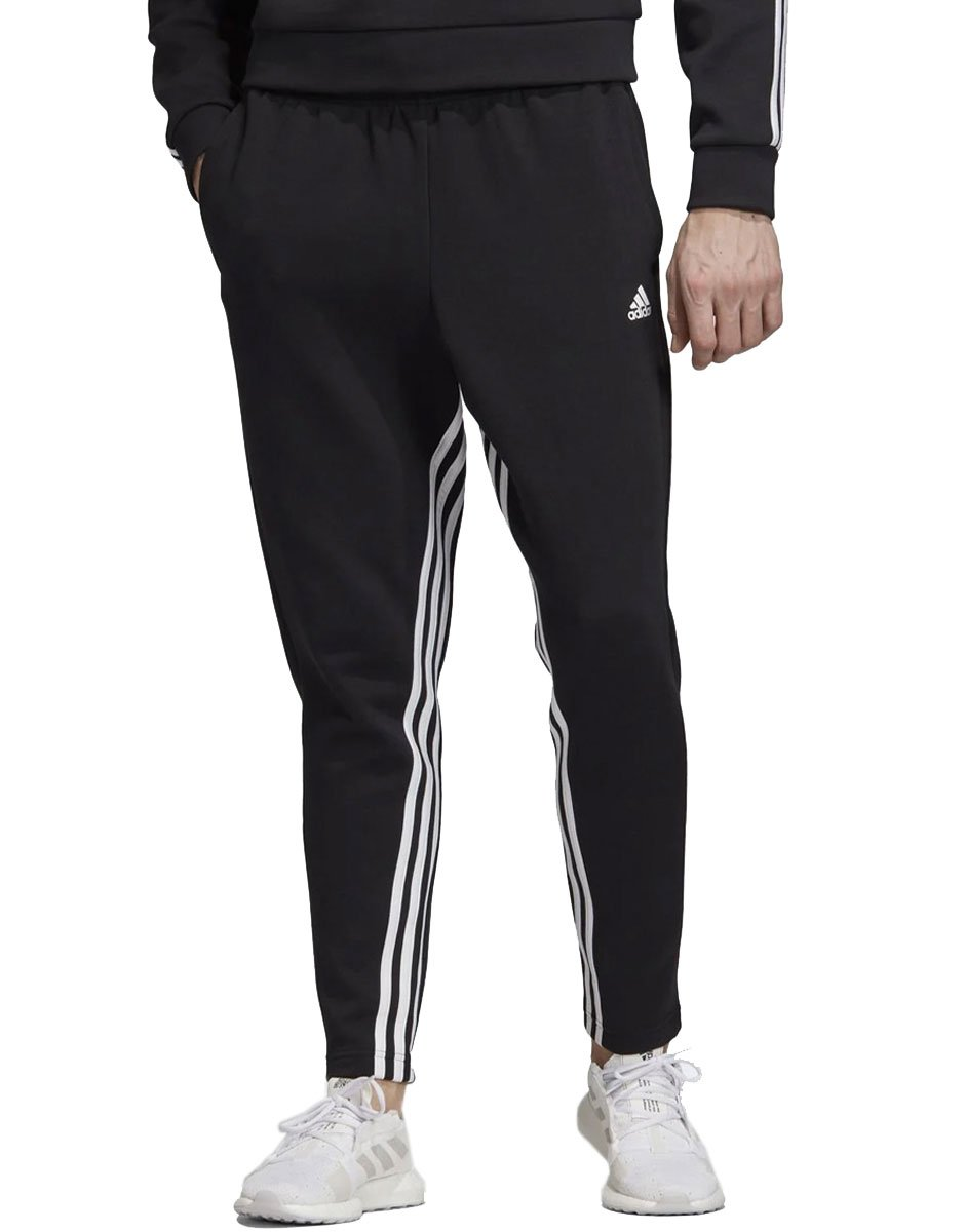 ADIDAS Must Haves 3 Stripes Tapered Pants Black