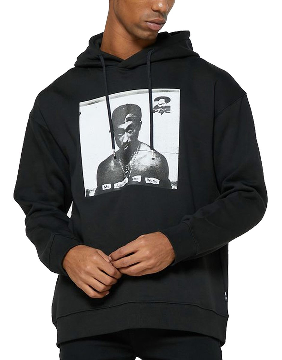 ONLY&SONS Tupac Life Hoodie Black
