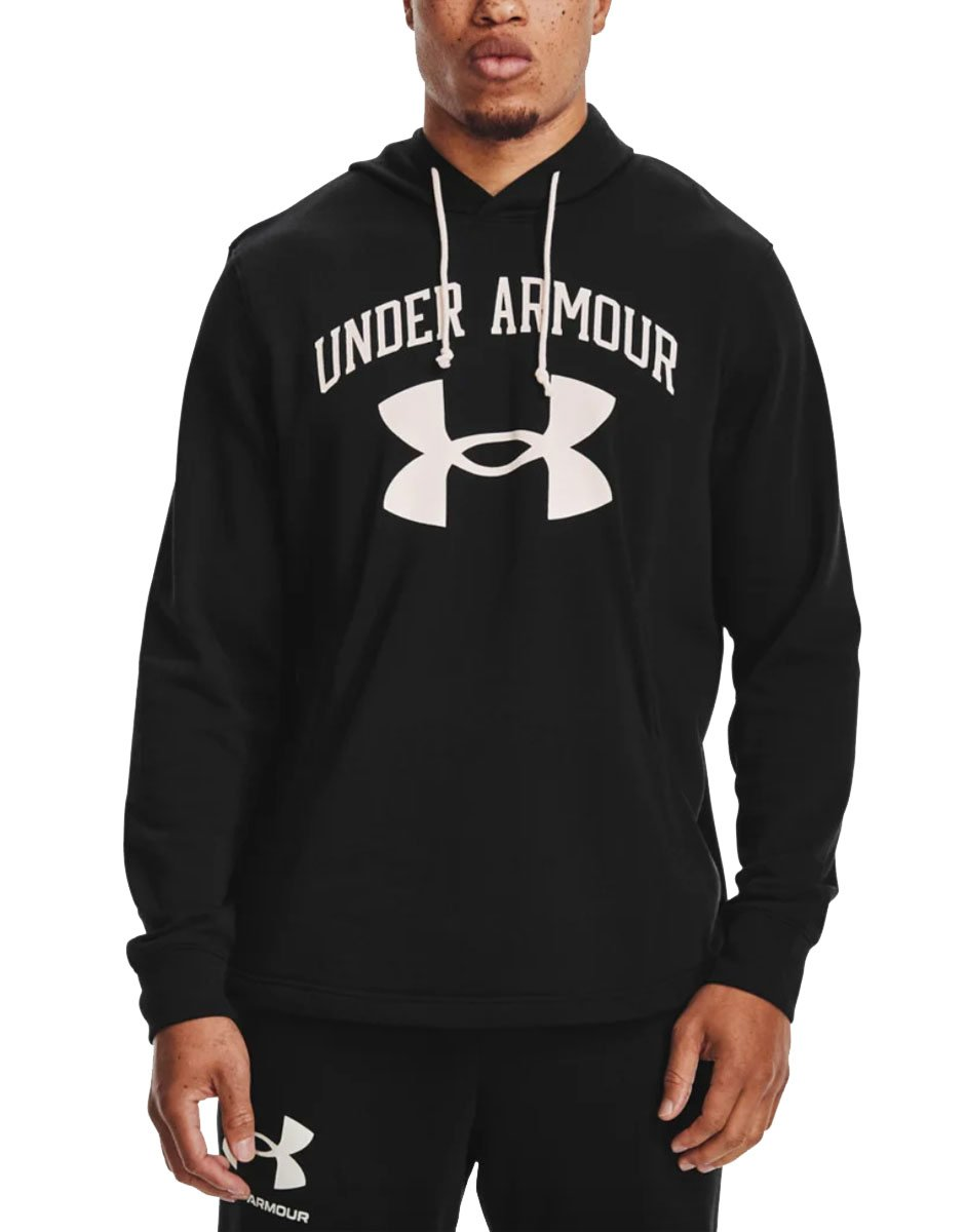 UNDER ARMOUR Rival Terry Hoodie Black