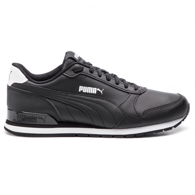 Маратонки PUMA ST Runner V2 Full Leather черни